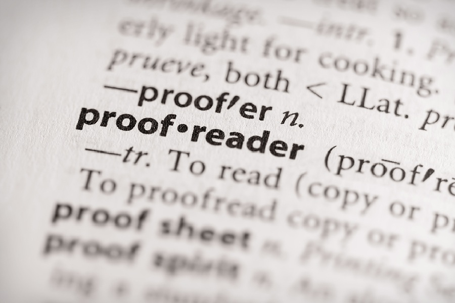 Scoping, proofreading and the bottom line